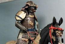 "samurai / Samurai (侍?), usually referred to in Japanese as bushi (武士?, [bu͍ꜜ.ɕi̥]) or buke (武家?), were the military nobility of medieval and early-modern Japan. According to translator William Scott Wilson: ""In Chinese, the character 侍 was originally a verb meaning to wait upon or accompany persons in the upper ranks of society, and this is also true of the original term in Japanese, saburau."