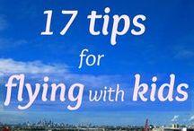 Voyager en famille / Des #conseils pour partir en #famille et des #endroits à visiter avec vos #enfants!