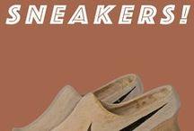 """Exposition """"Sneakers!"""" / du mardi au dimanche de 12à 17 heures du 28 mars au 02 juin 2015. Entrée libre. La Médiatine, allée Pierre Levie (anciennement 45 chaussée de Stockel - 1200 Bruxelles   www.albert Marinus.org"""