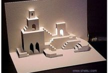 Origamic Architecture (Kirigami Pop Up Cards)