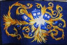 Fandom Inspired Quilts / Harry Potter, Doctor Who, Firefly! Quilts that are inspired by by Fantasy, Sci-Fi and other fun Fandoms!