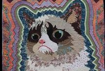 Cat Quilts / We love our kitties! Quilts inspired by our furry friends!