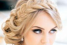 topuz saç (hair)