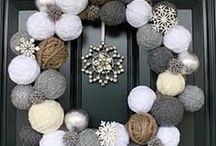 Advent og jul / Ideer til pynt og dekor.