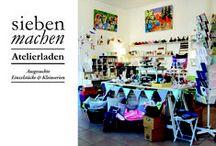 siebenmachen Ladenatelier / habseligkeiten und viele andere ausgesuchte Unikate und Kleinserien gibt es gleich zum Mitnehmen im Ladenatelier siebenmachen in München, Obergiesing