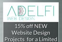 Adelfi Web Design for Small & Holistic Businesses / Our Mission Statement: To create beautiful, inspiring websites to show the unique personality of you and your brand. To build a lifestyle around your brand and help you to get online and help change the world and the lives of others! #Together #wecanchangetheworld