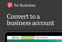 Pinterest for Business / Visit business.pinterest.com for best practices, case studies and more / by Pinterest