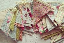 Bunting / Bunting is an excellent way to add colour and depth to your wedding venue.