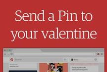 Send a valentine / These special valentine Pins were handmade by us and a few of our designer friends. Send them to anyone you like, or LIKE like, using Pinterest messages! / by Pinterest