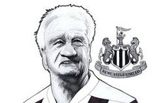My Toon Caricatures / Here you can find all my Toon (Newcastle United) caricatures