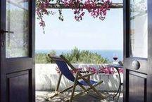 Terrazas, balcones y macetas / Al solecito...