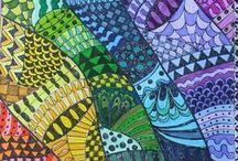 Zentangle® / Kreative Entspannung beim Zeichnen finden