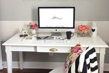 Home Office ~ Domácí kanceláře.