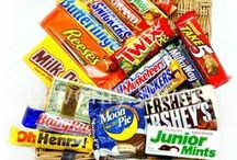 American Sweet Hampers / Loads of different hampers with American Sweets in them