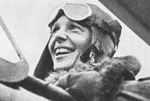 Amelia Earhart / by Mrs Dixie