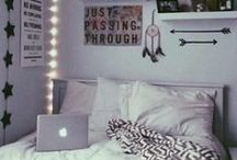 Dorm room hacks / We took the Pinterventions pop-up to college and transformed a dorm room with small space hacks and creative ideas inspired by this collection of Pins. / by Pinterest