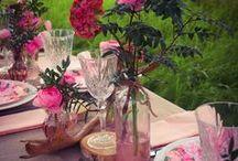 Bohème & Floral / Idées et inspirations pour des décors au look bohème