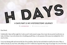 Health: My Hysterectomy journey / Women's health. Hysterectomy diary.