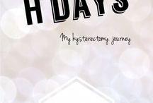 Health: My Hysterectomy journey / Women's health. Hysterectomy diary.
