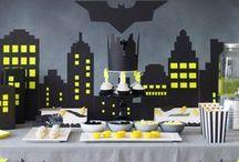 Batman Party / Idées et inspirations sur le superhéros au costume de chauve-souris