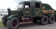 Showmen's Equipment and Fairgrounds / Showmen's Lorries and waggons, and fairground rides.