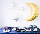 Cosmic Party - Apéritif cosmique / Idées de décoration et recettes célestes sur le thème de l'univers, de l'espace, des planètes et étoiles.