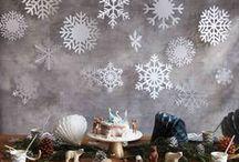 Reine des neiges - Frozen Birthday Party / Idées et inspirations pour une anniversaire sur le thème de la Reine des Neiges.