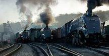 Railways: Streamlined Steam Locomotives. / Streamlined steam locomotives from everywhere and anywhere.