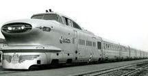 Railways: Streamlined Trains / Streamlined Trains.