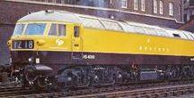 Railways: English Diesel Locomotives / English diesel locomotives, domestic and exported.