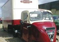 Commercial Vehicles: Three Wheeled. / Three wheeled lorries and vans.
