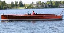Boats: Motor Launches / Motor launches.