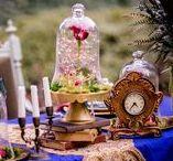 La belle et la bête - Beauty and the Beast Party / Idées et inspirations pour dresser une jolie table autour du conte la Belle et la Bête !