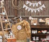 Cowboys Party / Idées et inspirations pour un thème d'anniversaire autour de l'univers des cowboys et du Far West digne des plus grands films de Western.