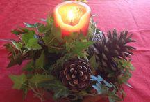 Navidad, cuando renace el niño que tenemos en el interior. / Todos los años adornamos nuestra casa, con un toque diferente cada vez.