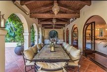 Outdoor Living Spaces / Amazing pools, patios and al fresco dining areas.