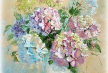 Papier do transferów - kwiaty