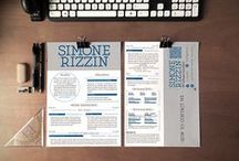 Inspiring resumés / Tips and Tricks for Beautifully designed CVs, that help you stand out and get your dream job!