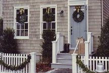 Holiday Decorations / Window and door decoration ideas for the winter Holidays!