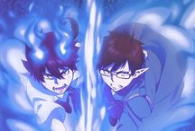 Ao no Exorcist - Blue Exorcist / Twins of satan working to beat satan?! Rin entered cram school to find Yukio his teacher.