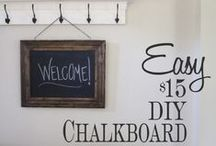 DIY general / DIYs for decor, home improvement, cleaning and more   / by Monica Bell