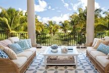 Tropical Climes / Homes in Palm Beach, California or the islands have such breezy elegance... / by Horton Design Associates