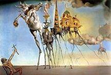 Salvador Dalí / Twórczość / creativity