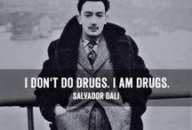 Salvador Dalí / Fanarty / fan arts