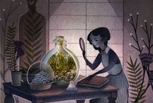 WONDERFUL / Art I love/ illustration and painting