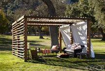 Open Air Rooms / Loggias, terraces and outdoor rooms! / by Horton Design Associates