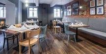EC-5 / INTERIOR DESING - Restaurant / Kretschmer's Restaurant - TOBACO HOTEL - ŁÓDŹ , POLAND