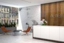 EC-5 / PROJECT OF HOTEL INTERIORS - APART HOTEL / Hotel interior design / Pomorze / area 1250 m2 / 2013 - by EC-5 Architects