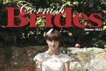 Cornish Brides Magazine Front Covers / Montage of Cornish Brides Magazine Front Covers