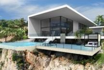 Villa inspiration / Inspiration and CC Dimension 3D Villa projects